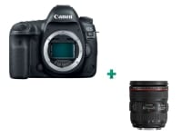 Canon EOS 5D Mark IV Body Μαύρο & Φακός 24-70 f/4L IS USM