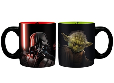 Κούπες Abysse Corp Star Wars Darth Vader & Yoda Mini Mugs - Μαύρο gaming   gaming merchandise   κούπες   ποτήρια