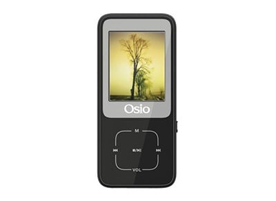 MP4 Player Osio SRM-8380 - 8GB - Μάυρο
