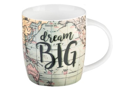Κούπα Legami Buongiorno Dream Big Map