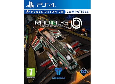 Radial-G: Racing Revolved - PS4/PSVR Game