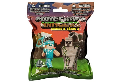 Τυχερή σακούλα Jinx - Minecraft Hangers - Series 3 gaming   gaming cool stuff   κάρτες   blind packs