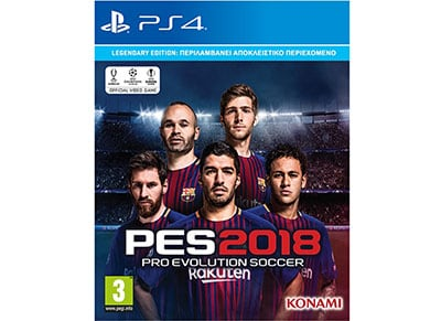 Pro Evolution Soccer 2018 Legendary Edition  - PS4 Game