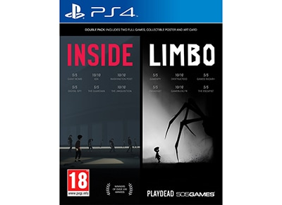 Inside/Limbo Double Pack - PS4 Game gaming   παιχνίδια ανά κονσόλα   ps4