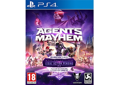Agents of Mayhem Day One Edition - PS4 Game