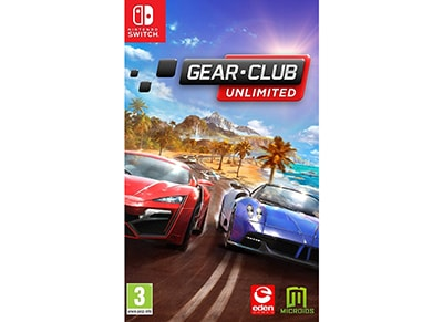 Gear Club Unlimited - Nintendo Switch Game gaming   παιχνίδια ανά κονσόλα   nintendo switch