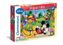 Παζλ Mickey Mouse Club House Super Color Disney (104 Maxi Κομμάτια)