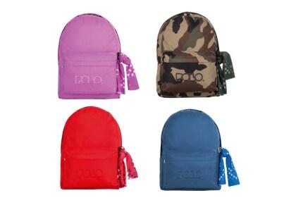 309e2c79e1 Τσάντα Πλάτης POLO Μεγάλη με Μαντήλι - Διάφορα Χρώματα - 1 Τεμάχιο ...
