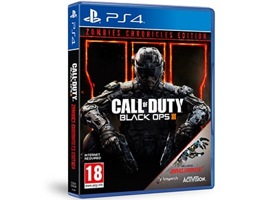 PS4 Game: Call of Duty Black Ops III Zombies Chronicles Edition gaming   used games   ps4 used