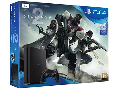 Sony PlayStation 4 Slim - 1TB & Destiny 2