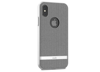 Θήκη iPhone X/XS - Moshi Vesta Cover Γκρι