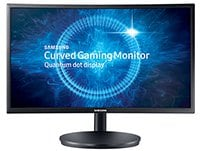 "Οθόνη Υπολογιστή 24"" Samsung LC24FG70FQUXEN Curved Full HD QLED FreeSync"