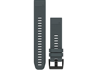 Λουράκι Garmin QuickFit 22 - Silicone Watch Band Γκρι