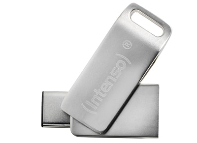 USB Stick Intenso cMobile Line 64GB USB 3.1 Type-C - 3536490 Ασημί περιφερειακά   usb sticks