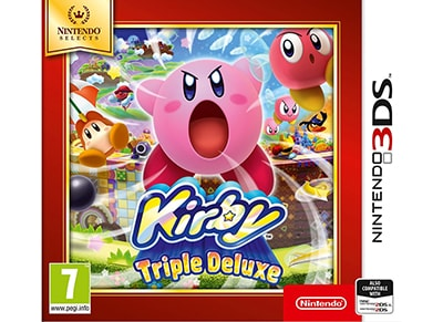 Kirby Triple Deluxe Selects – 3DS/2DS Game