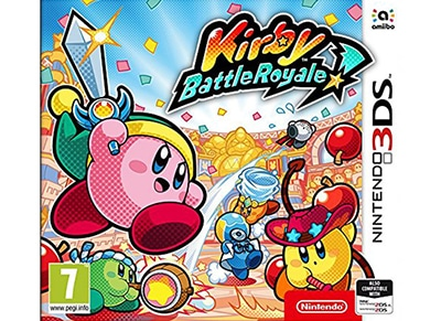 Kirby Battle Royale - 3DS/2DS Game gaming   παιχνίδια ανά κονσόλα   3ds 2ds