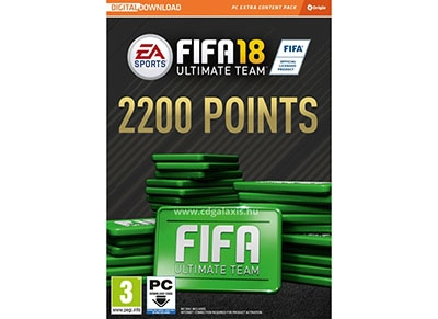 FIFA 18 2200 FUT Points - Prepaid Card