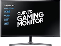 "Οθόνη Υπολογιστή 32"" Samsung LC32HG70QQUXEN - Quad HD VA QLED UltraWide Curved Gaming Monitor"