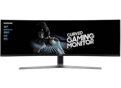 "Οθόνη Υπολογιστή 49"" Samsung LC49HG90DMUXEN - Quad HD VA QLED UltraWide Curved Gaming Monitor"