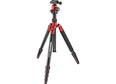 Τρίποδο Manfrotto Element Big Aluminum Traveler - Κόκκινο
