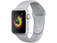 Apple Watch Series 3 38mm Aluminium Silver Sport Band Fog