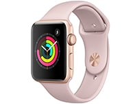 Apple Watch Series 3 42mm Aluminium Gold Sport Band Pink Sand