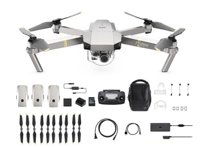 Drone DJI Mavic Pro Platinum Fly More Combo με 4K Κάμερα wearables  drones   hitech   drones   τηλεκατευθυνόμενα   drones