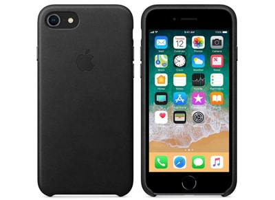 Θήκη iPhone 8/7 - Apple Leather Case - Black