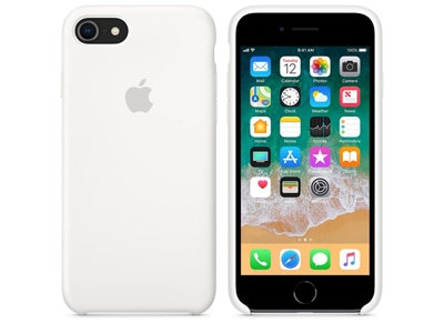 Θήκη iPhone 8/7 - Apple Silicone Case - White