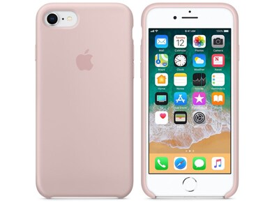 Θήκη iPhone 8/7 - Apple Silicone Case - Sand Pink