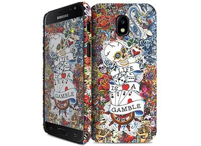Θήκη Samsung Galaxy J3 2017 - iPaint 540101 Hard Case Tattoo