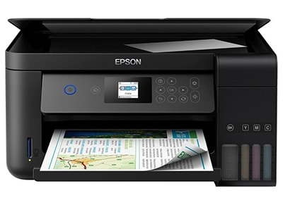 Πολυμηχάνημα Epson L4160 ITS   Inkjet A4  WiFi