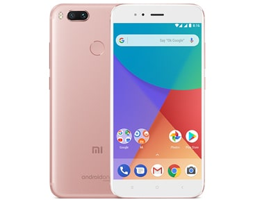 Xiaomi Mi Α1 64GB Rose Gold Dual Sim Smartphone Powered by Google