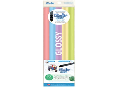 3Doodler PLA Mixed Color Filament Pack (Pretty Pastels, 25 Strands)  - 3D Design