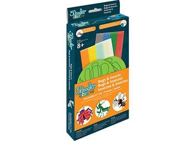 3Doodler Start DoodleBlock Kit - Insect & Bugs & 48 Strands