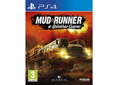 Spintires: Mudrunner - PS4 Game