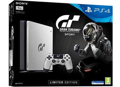 Sony PlayStation 4 - 1TB Slim Limited Edition & Gran Turismo Sport