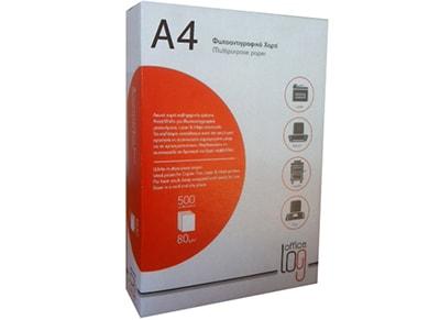 fc33abe1ef9 Χαρτί Εκτύπωσης - Office Log A4 - 500 φύλλα