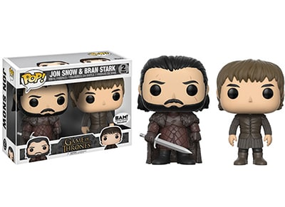 Φιγούρες Funko Pop! Television - 2 Pack - John Snow & Bran Stark (Game of Throne gaming   gaming merchandise   φιγούρες funko pop