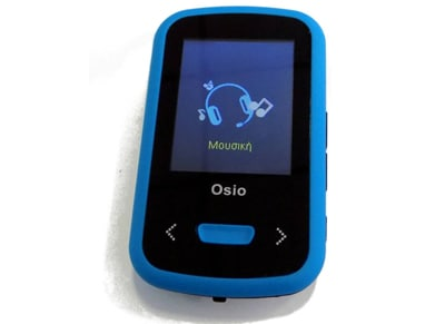 MP4/MP3 Player Osio SRM-9280B - 8GB Μπλε