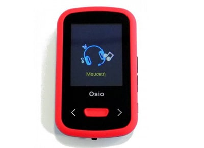 MP4/MP3 Player Osio SRM-9280B - 8GB Κόκκινο