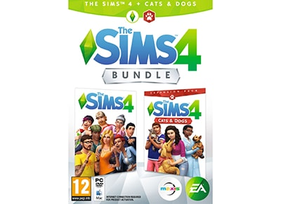 The Sims 4 & Cats & Dogs Expansion Bundle - PC Game