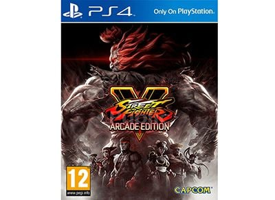 Street Fighter V Arcade Edition - PS4 Game