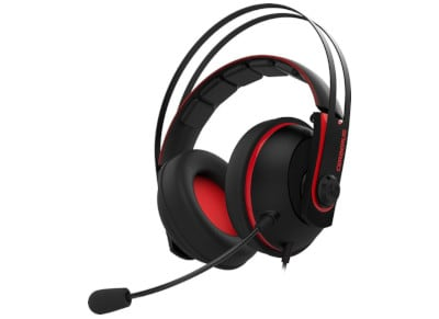 Asus Cerberus V2 - Gaming Headset Κόκκινο gaming   αξεσουάρ pc gaming   gaming headsets