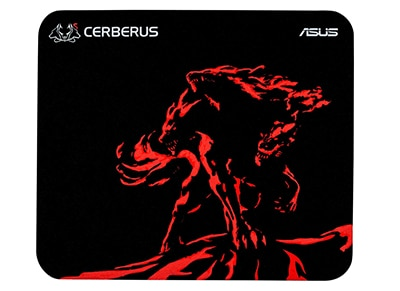 Gaming Mousepad Asus Cerberus Mat Mini Κόκκινο gaming   αξεσουάρ pc gaming   gaming mousepads