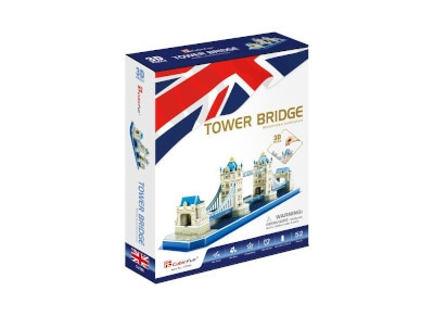 3D Παζλ Tower Bridge LED - Cubic Fun - 43 Κομμάτια