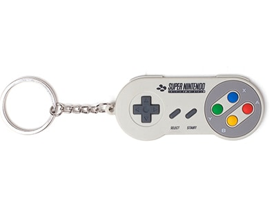 Μπρελόκ Bioworld Super Nintendo - Controller - Rubber Keychain gaming   gaming cool stuff   μπρελόκ