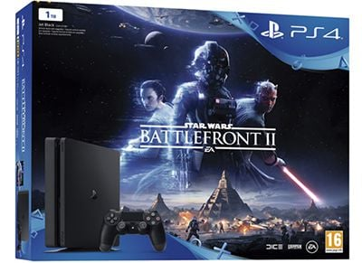 Sony PlayStation 4 Slim - 1TB & Star Wars Battlefront II