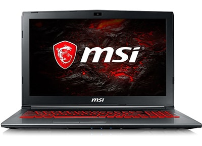 "Laptop MSI GV62 15.6"" (i5-7300HQ/8GB/256GB/GTX1050 4GB)"