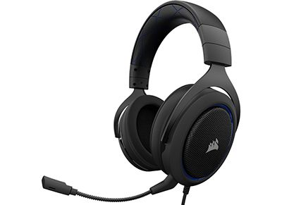 Gaming Headset - Corsair HS50 - Blue